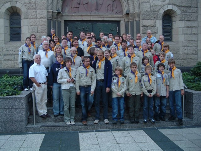 Scouting´s Sunrise, 1. August 2007- Gruppenphoto