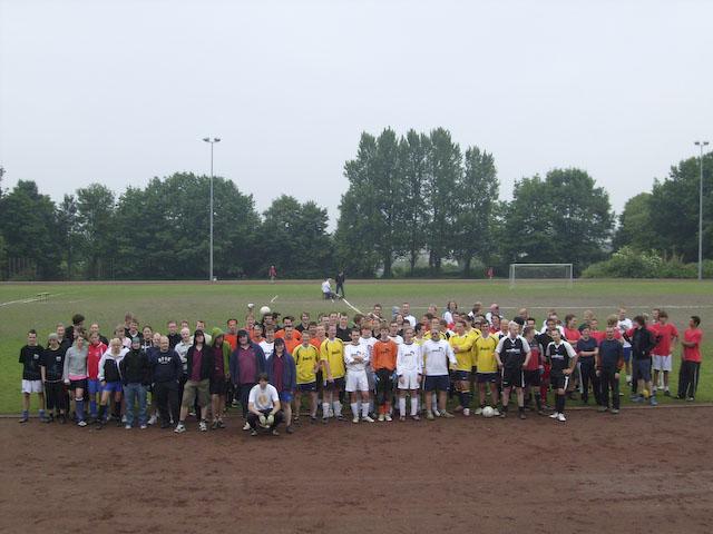 Gruppenphoto Bezirksfußballturnier 2008