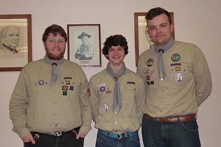 Photo von Julian, David und Paul